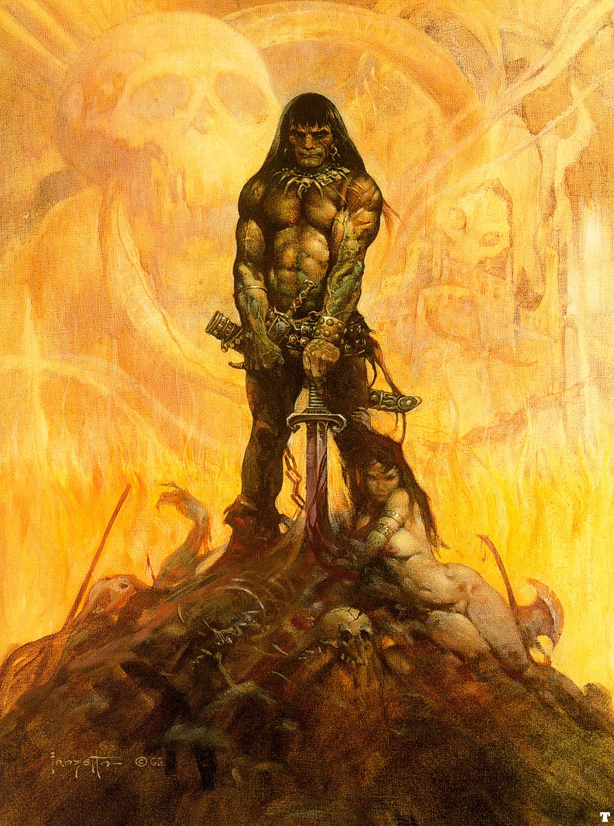 Unofficial frank frazetta fantasy art gallery